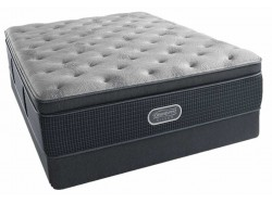 Beautyrest® Silver Charcoal Coast Luxury Firm Pillow Top Mattress